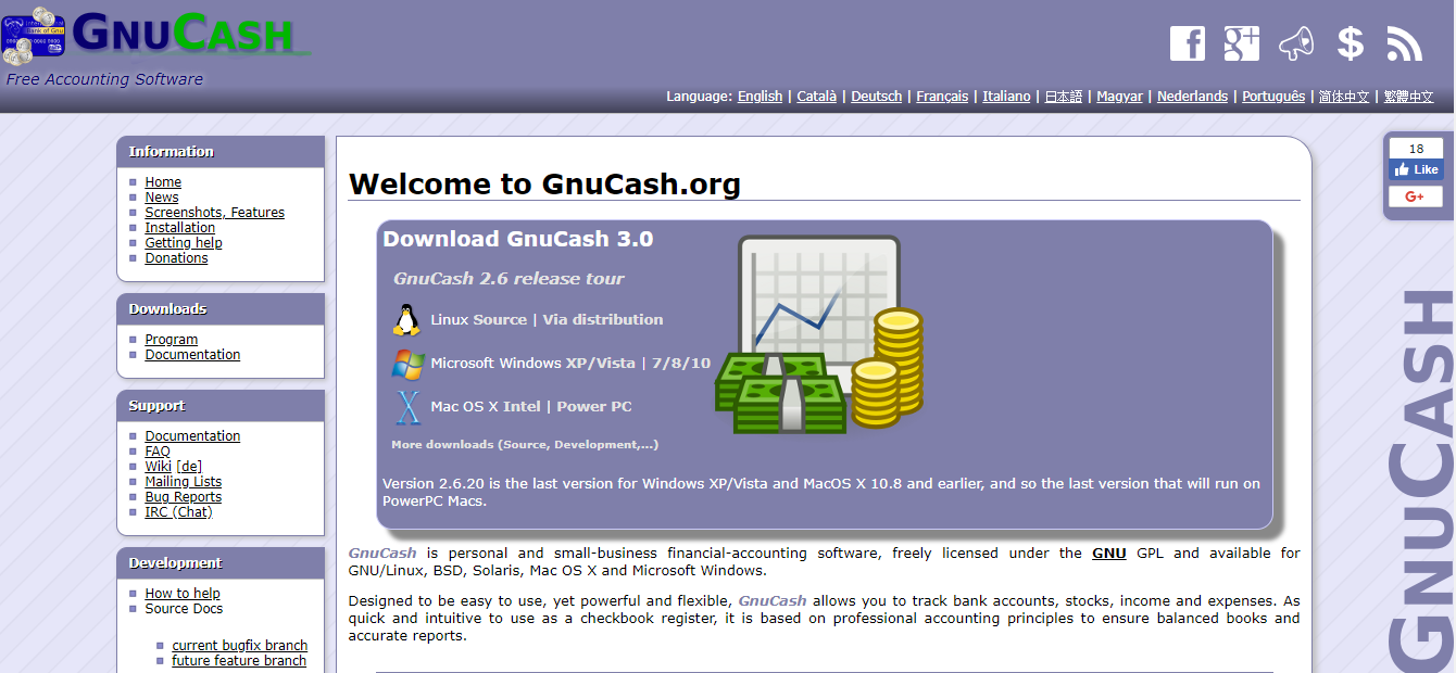 GnuCash - Best free Small Business Accounting Software